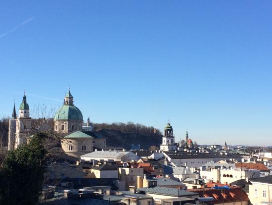ノンベルク修道院からの旧市街