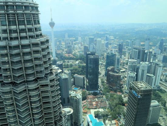 86階の展望台からの眺望