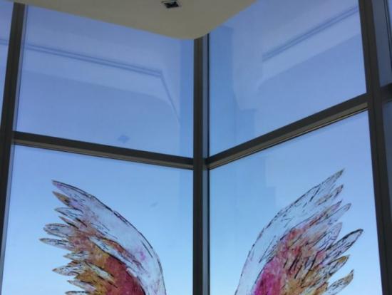 インスタ映えスポットで人気な天使の羽根
