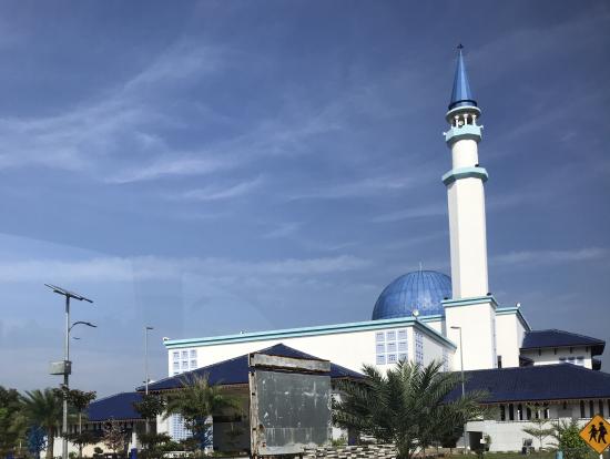 車窓からの風景、モスク