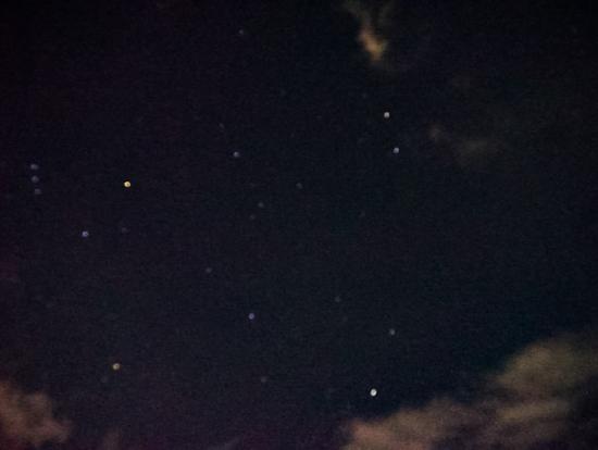 アプガン砦の夜空