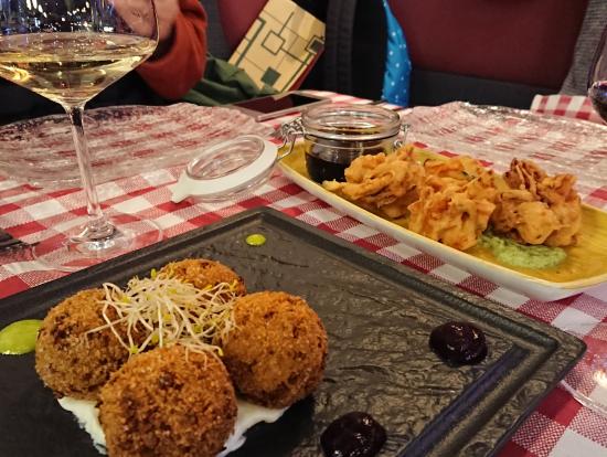 オルヴィエートのレストラン Malandrino