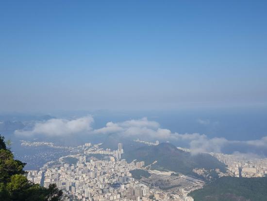コルコバードの丘からの眺め。