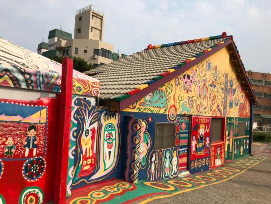 カラフルな虹村