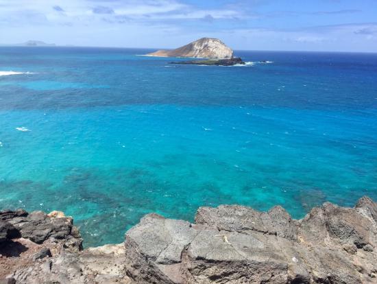 美しい海の色