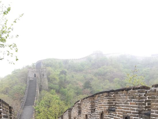 朝早く、人が少なかったので最高でした!ただ、霧?で見晴らしはあまり良くなかったです