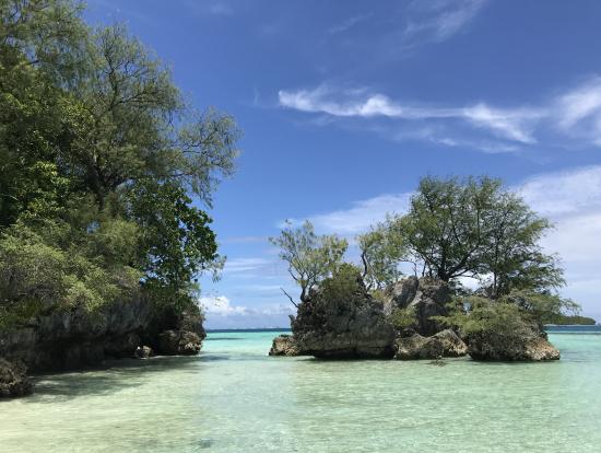 ランチの無人島