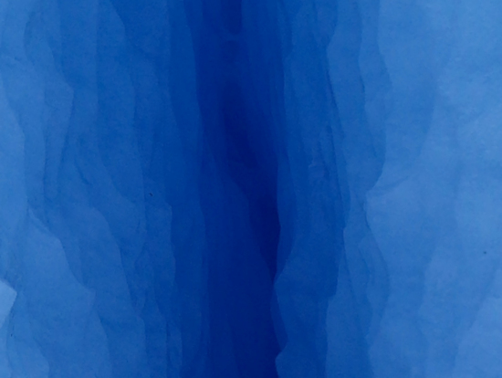 神秘的なブルー