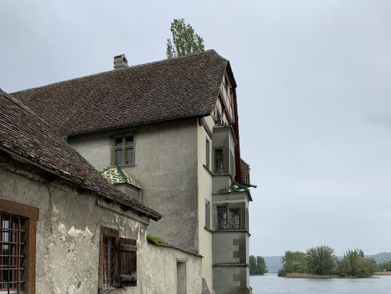 Stein am Rhein 静かなライン川