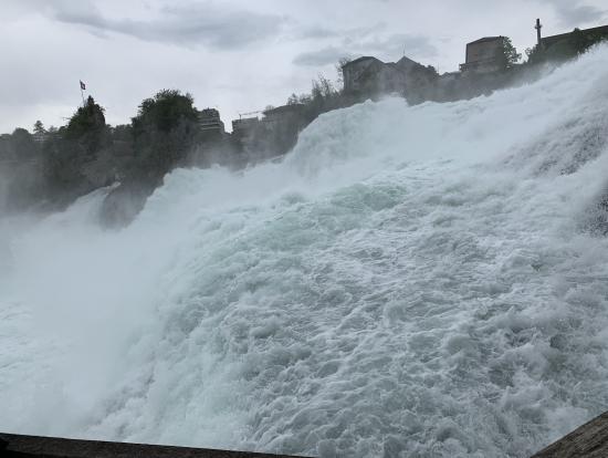 ライン川の滝 迫力満点 Rhein falls