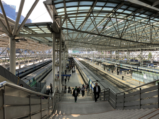 ソウル駅プラットホーム