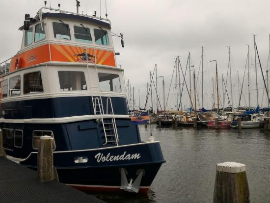 マルケン→フォーレンダムへ船で移動