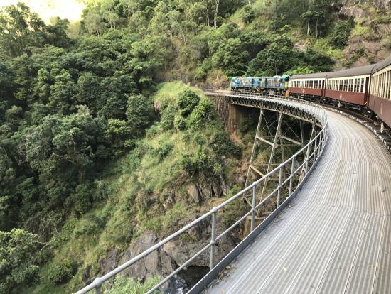 キュランダ鉄道の有名スポット