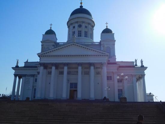 ヘルシンキ大聖堂です。