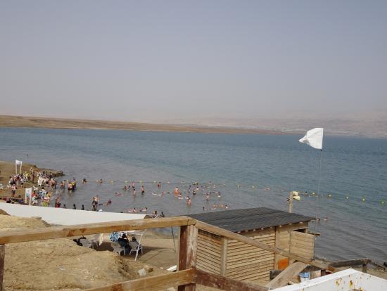 死海ビーチ