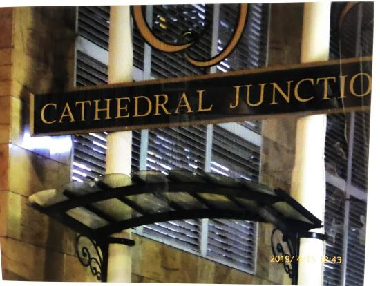 トラムウウェイ発着場所  Cathedral Junction