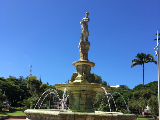 ココティエ広場の噴水