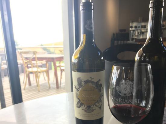 2軒目のビルトンとワインのペアリング