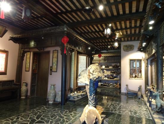 クラシカルな漢方博物館1