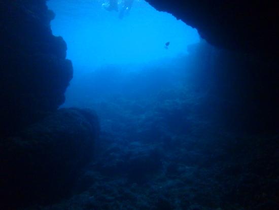 青の洞窟、最高に綺麗でした。