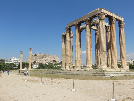 ゼウス神殿遺跡です
