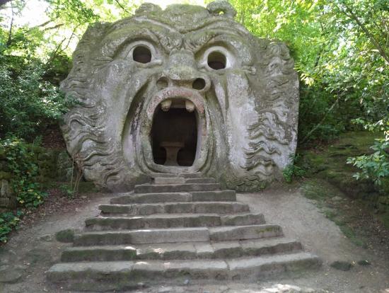ボマルツォ怪物公園のオーガ
