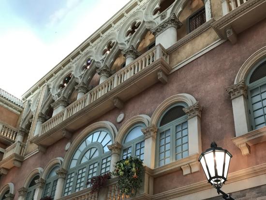ベネチアンホテル中