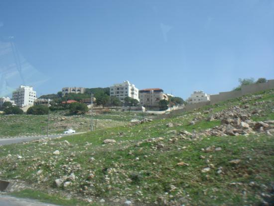 ヨルダン市内に入る直前。