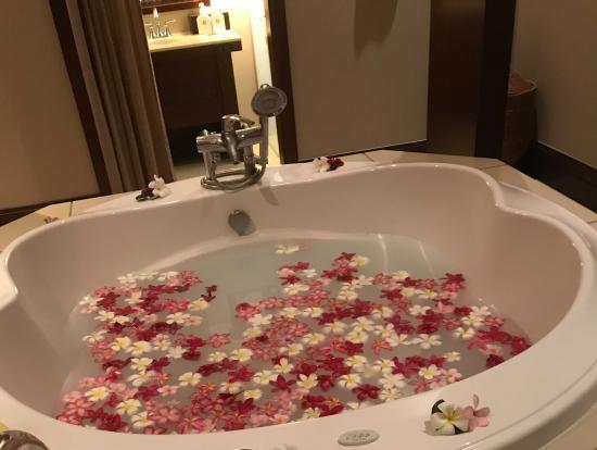 施術空間にあるお風呂