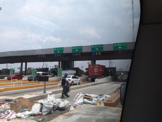 メキシコシティーに帰って来ました。