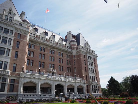 アフタヌーンティをしたホテル