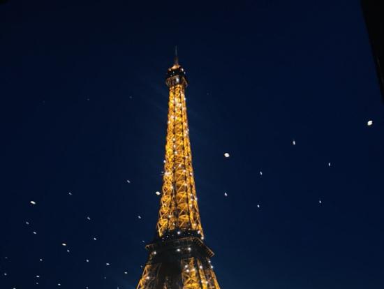 天井ライトが星空みたい
