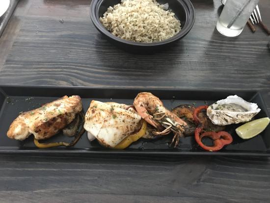 地中海料理のお店で食べた