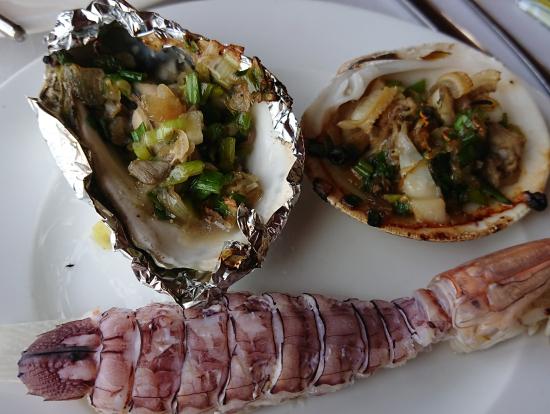 オプションのサコ、牡蠣、アマグリ!