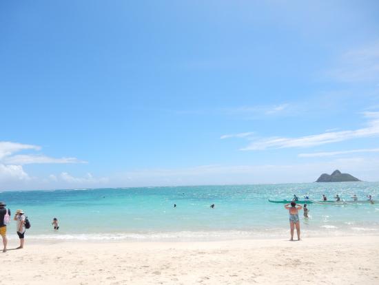 カイルアのビーチ