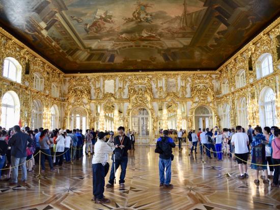 エカテリーナ宮殿、黄金の前