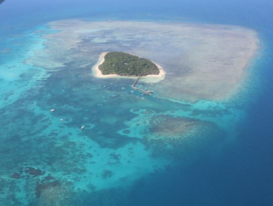 グレートバリアリーフの玄関口と言われるグリーン島