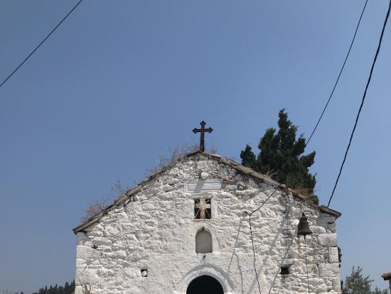 20年前に訪れた教会